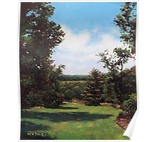 Hillier Gardens Grass and Trees Poster