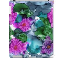 Abstract Water Lilies iPad Case/Skin