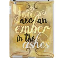 an ember in the ashes iPad Case/Skin