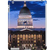 Utah Capitol Sunset - Salt Lake City iPad Case/Skin
