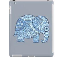 Blue Mandala Elephant iPad Case/Skin