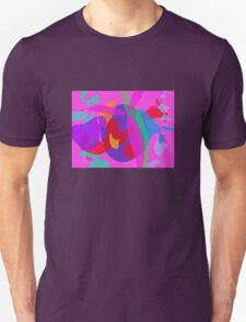 Unique Psychedelic Pink Design T-Shirt