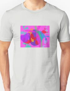 Unique Psychedelic Pink Design T-Shirt