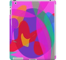 Unique Psychedelic Pink Design iPad Case/Skin