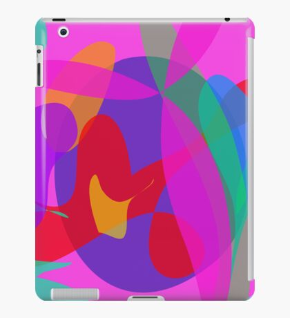 Unique Psychedelic Pink Design iPad Case/Skin