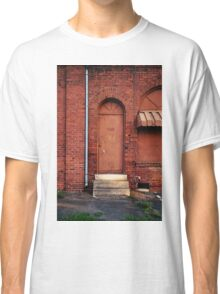Knock Before Entering Classic T-Shirt
