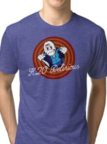 H2O Delirious 1930's Cartoon Character Tri-blend T-Shirt