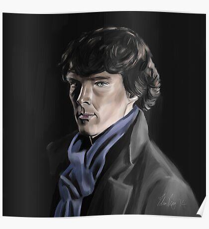 Benedict Cumberbatch as Sherlock Poster