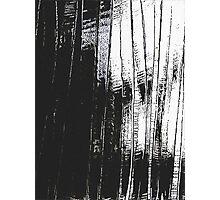 Grunge Black & White Pattern Photographic Print