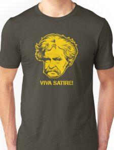 Viva Satire Mark Twain Shirt T-Shirt