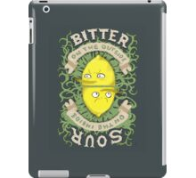 Bitter on the Outside, Sour on the Inside iPad Case/Skin