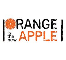 Orange is the new Apple Photographic Print