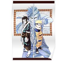 Naruto, Haku, and Zabuza Poster