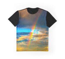 Rainbow Beach Graphic T-Shirt