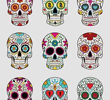 Sugar Skulls by Esoteric Exposal