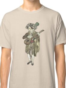 Pirate Musician Cat  Classic T-Shirt