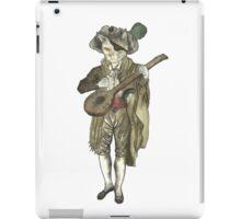 Pirate Musician Cat  iPad Case/Skin