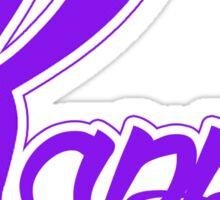 Kappa (Special K) Logo - Purple Sticker