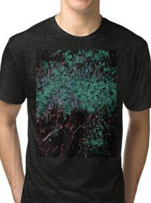 Line Art The Scratch no. 5 Tri-blend T-Shirt
