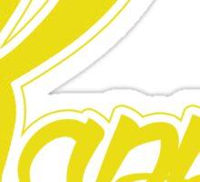 Kappa (Special K) Logo - Yellow Sticker