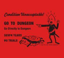 GO TO DUNGEON Kids Tee
