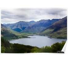 Still Waters of Loch Duich Poster