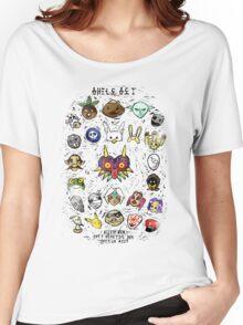 Majora's Masks Women's Relaxed Fit T-Shirt