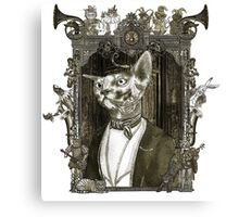 Mr. Sphinx with Frame Canvas Print