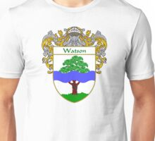Watson Coat of Arms / Watson Family Crest Unisex T-Shirt