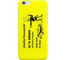 GO TO DUNGEON iPhone Case/Skin