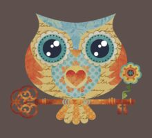 Owl's Summer Love Letters Baby Tee