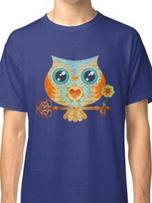 Owl's Summer Love Letters Classic T-Shirt