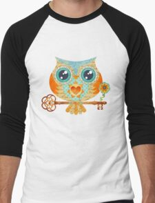 Owl's Summer Love Letters Men's Baseball ¾ T-Shirt