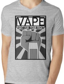 Vape (Fight for your Right) Mens V-Neck T-Shirt