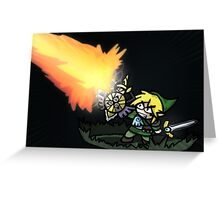 Sword Master Greeting Card