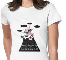 When I'm With My Love Bug Womens Fitted T-Shirt