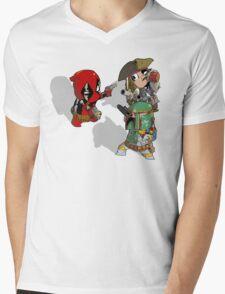 Mexican Standoff Mens V-Neck T-Shirt