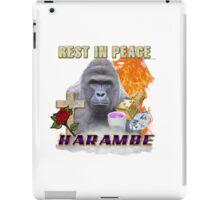 I FEEL LIKE HARAMBE  iPad Case/Skin
