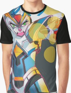 The Blue Bomber Graphic T-Shirt