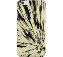 Abstract Explosion Line Art Pattern iPhone Case/Skin