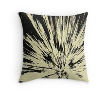 Abstract Explosion Line Art Pattern Throw Pillow