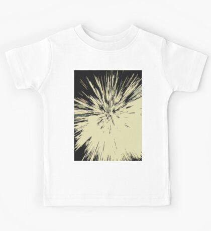 Abstract Explosion Line Art Pattern Kids Tee