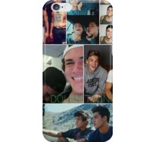 Dolan twins collage 3 iPhone Case/Skin