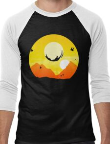 Exotic Traveller Men's Baseball ¾ T-Shirt