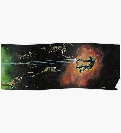 Isaac Clarke versus Necromorphs Poster
