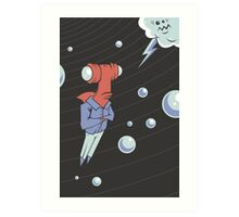 Sharkbait: A Journey Through Time and Space Art Print