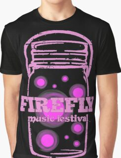 FIREFLY MUSIC FESTIVAL Graphic T-Shirt