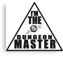 Dungeon Master! Canvas Print