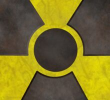 Radioactive Fallout Gamer Sticker