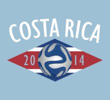 Costa Rica 2014 World Cup by heliconista